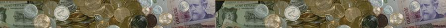 Colección de billetes y monedas